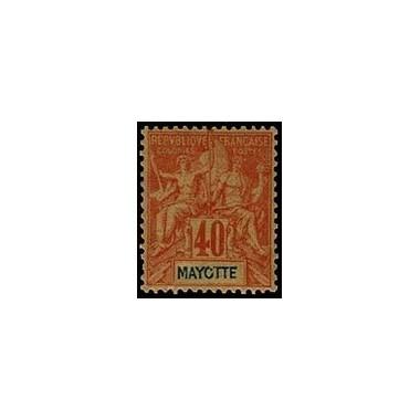 Mayotte N° 010 Obli