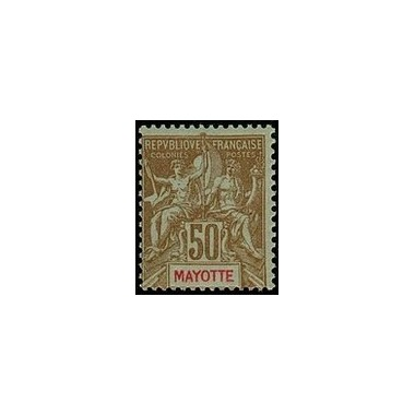 Mayotte N° 020 Obli