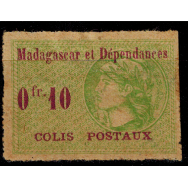 Madagascar C P N° 4 N *