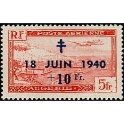 ALGERIE  N° PA08 Obli