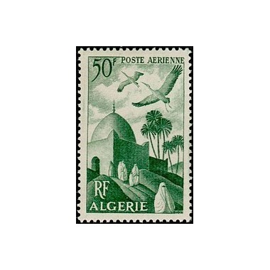 ALGERIE  N° PA09 Obli