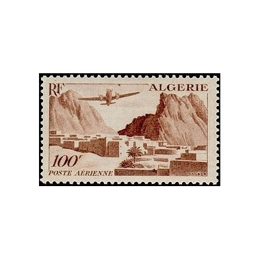 ALGERIE  N° PA10 Obli
