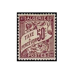 ALGERIE Taxe N° 07 N **