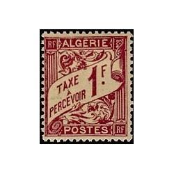 ALGERIE Taxe N° 09 N **