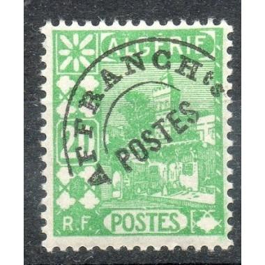 Algerie Preo N° 013 Obli