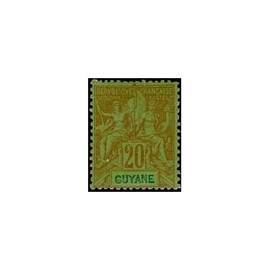 Guyane N° 036 N *
