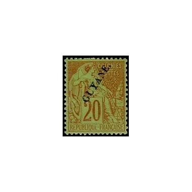 Guyane N° 022 Obli