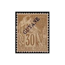 Guyane N° 024 Obli