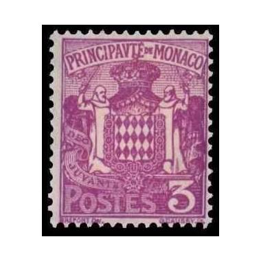 Monaco N° 0074A N *