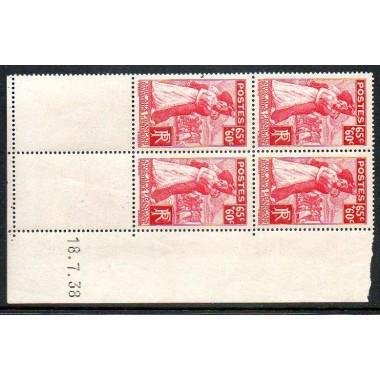 CD du N° 401 daté du 18 7 38