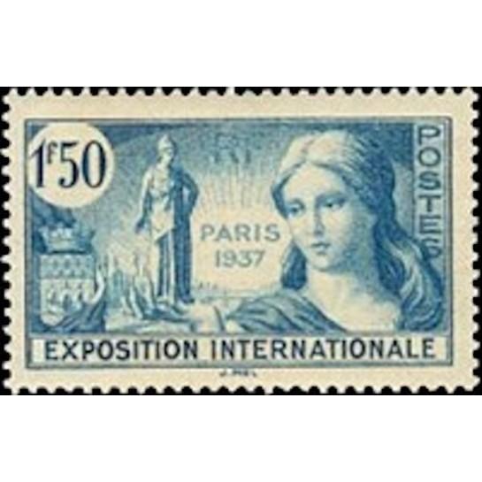 FR N° 0336 Neuf Luxe de 1937