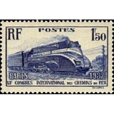 FR N° 0340 Neuf Luxe de 1937