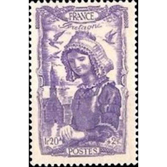 FR N° 0594 Neuf Luxe de 1943