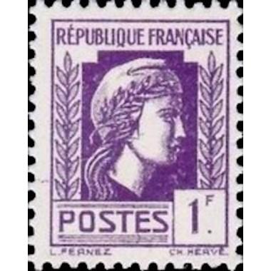 FR N° 0637 Neuf Luxe de 1944