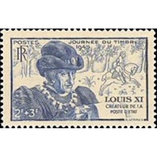 FR N° 0743 Neuf Luxe de 1945