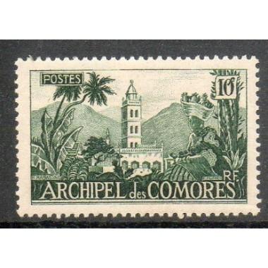 Comores N ° 008 Obli