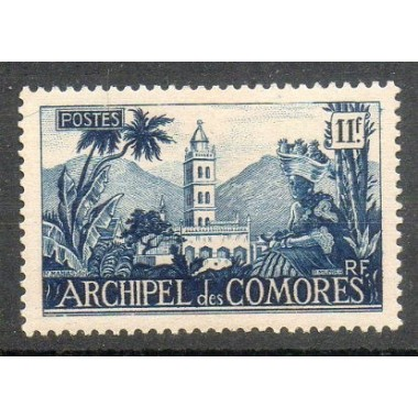 Comores N ° 009 Obli