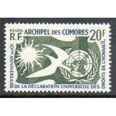 Comores N ° 015 Obli