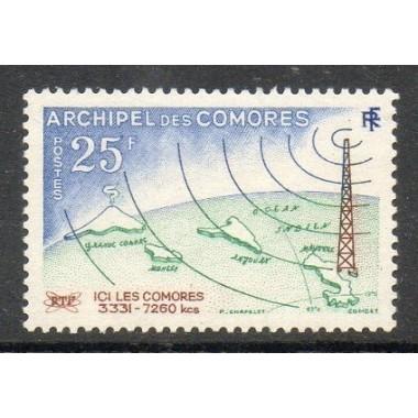 Comores N ° 018 Obli