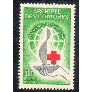 Comores N ° 027 Obli