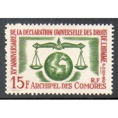 Comores N ° 028 Obli