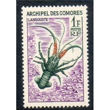 Comores N ° 035 Obli