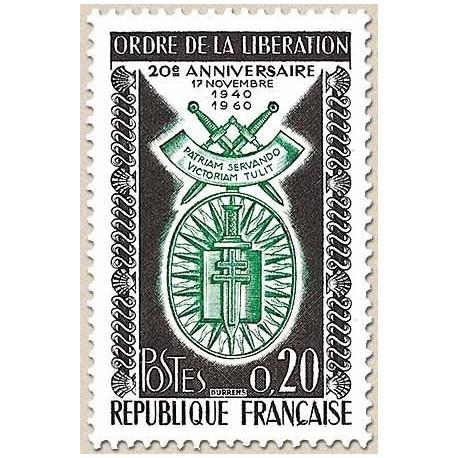 FR N° 1272 Neuf Luxe de 1960