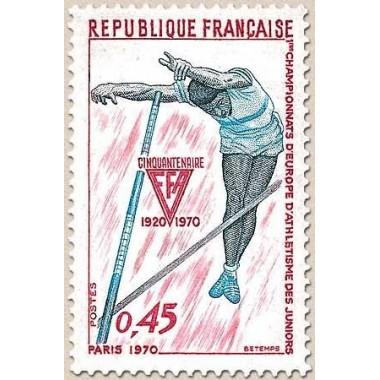 FR N° 1650 Oblit