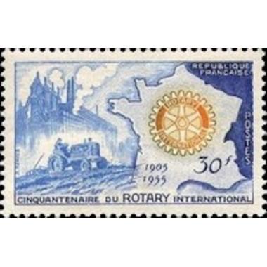 FR N° 1009 Neuf Luxe de 1955