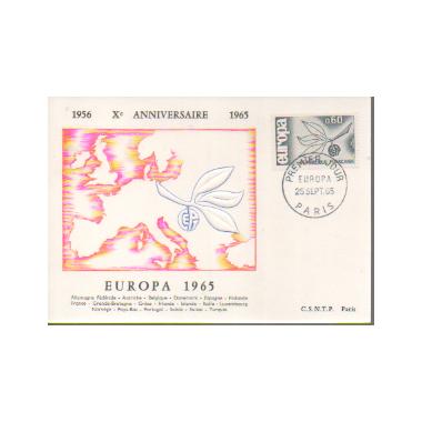 Carte P J du N° 1456
