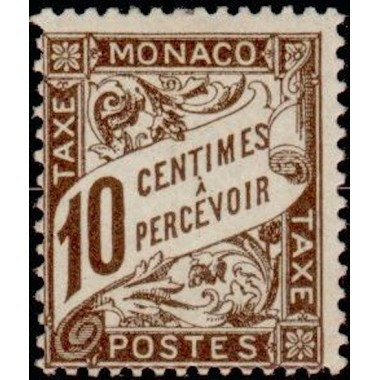 Monaco TA Neuf ** N° 0004