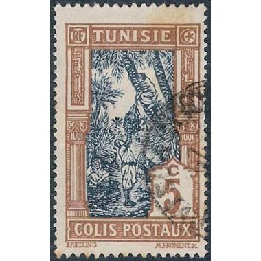Tunisie CP N° 11 Obli