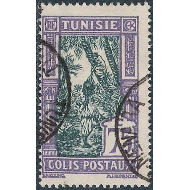 Tunisie CP N° 18 Obli