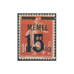 Memel  N° 038 N *