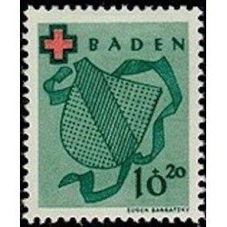 OFA Baden N° 38 Obli