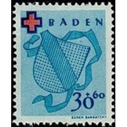 OFA Baden N° 40 Obli