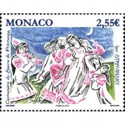 Monaco Neuf ** N° 2878