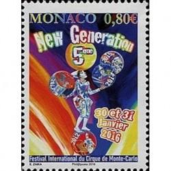 Monaco Neuf ** N° 3010