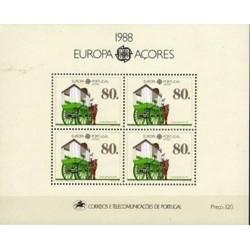 Açores N° Bloc 0009 N**