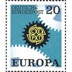 Allemagne fédérale N° 0398 N**