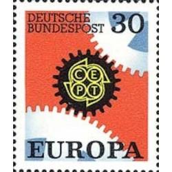 Allemagne fédérale N° 0399 N**