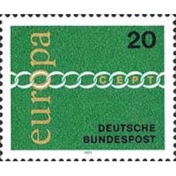 Allemagne fédérale N° 0538 N**