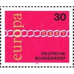 Allemagne fédérale N° 0539 N**