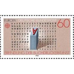 Allemagne fédérale N° 1007 N**