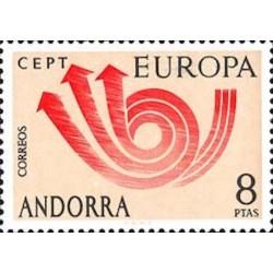 Andorre espagnol N° 0078 N**