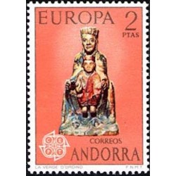 Andorre espagnol N° 0081 N**