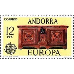 Andorre espagnol N° 0095 N**