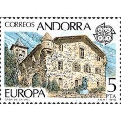 Andorre espagnol N° 0108 N**