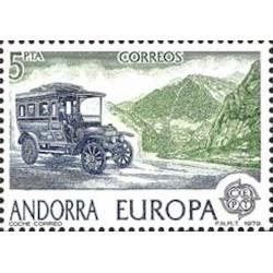 Andorre espagnol N° 0116 N**