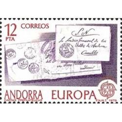 Andorre espagnol N° 0117 N**